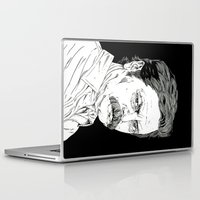 ron swanson Laptop & iPad Skins featuring Ron Swanson by Andy Christofi