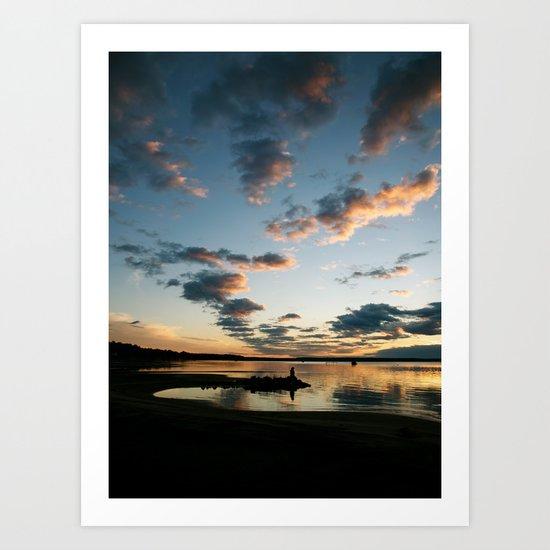 Lake Huron Sunrise II Art Print