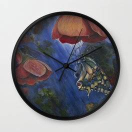 Shelter in the Storm Wall Clock