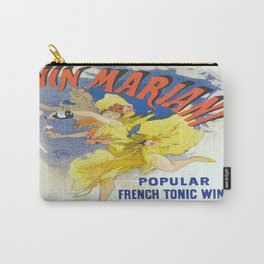 Vintage poster - French Wine Carry-All Pouch