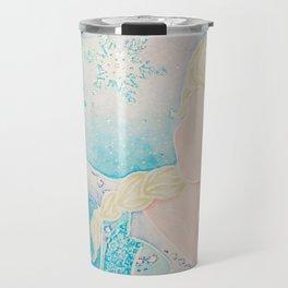 Queen Elsa Travel Mug