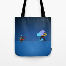 Thread Troll Tote Bag