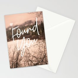 Found You Stationery Cards