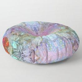 Dimensional Medium  Floor Pillow