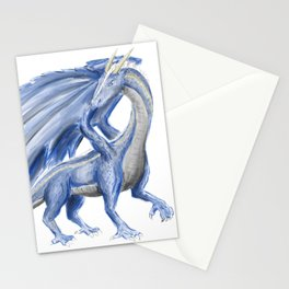 Blue Dragon Stationery Cards