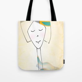 She was known for her interesting hats. Tote Bag