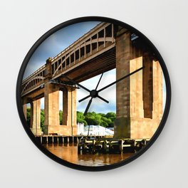 The High Level Bridge Wall Clock