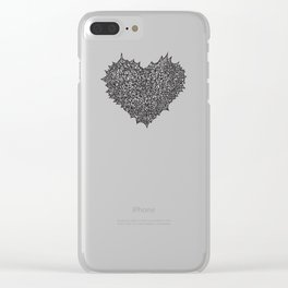 The Heart of Thorns Clear iPhone Case