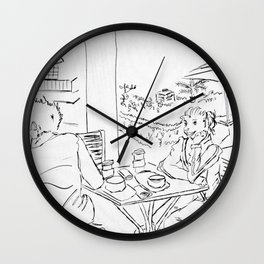Jack and Millie Wall Clock