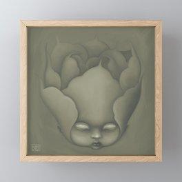 Peony Dollface Framed Mini Art Print