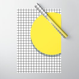 Memphis Yellow Wrapping Paper
