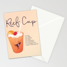 Reef Cup Stationery Cards