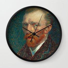 Vincent van Gogh - Self-Portrait, 1887 Wall Clock