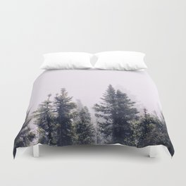 Pine forest Duvet Cover