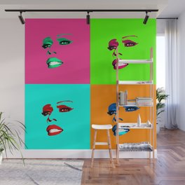 Sassy Ross POP 4 Color Wall Mural