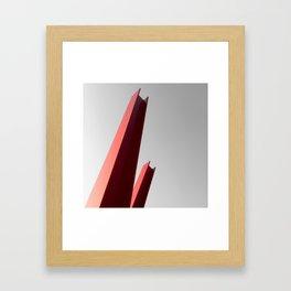 to the bat mobile  Framed Art Print