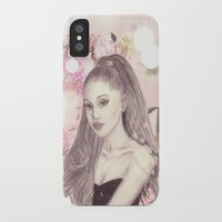 ariana grande iPhone & iPod Cases featuring Ariana by Share_Shop