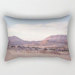 Marfa II - Sunset on the Range Rectangular Pillow