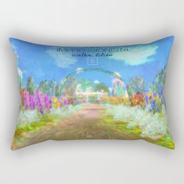 IMPRESSIONISTa Water Lilies Rectangular Pillow