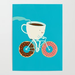 Coffee and Donuts Poster