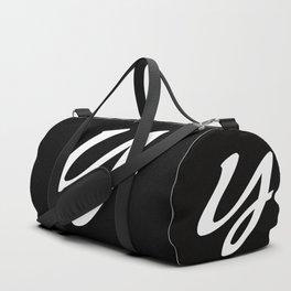 ALPHABET.....Y Duffle Bag