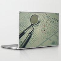 dentist Laptop & iPad Skins featuring A DENTIST by Ruby_Dag