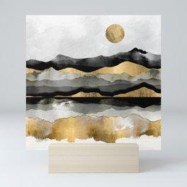 Golden Spring Moon Mini Art Print