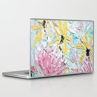 once upon a  time Laptop & iPad Skins featuring Once Upon a Time by Ann Marie Coolick
