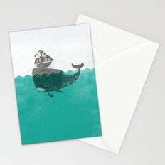 Belly of the Whale - Hipster Edition (with pirates) Stationery Cards