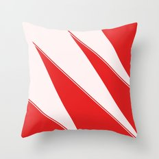 Askewed Triangles Throw Pillow