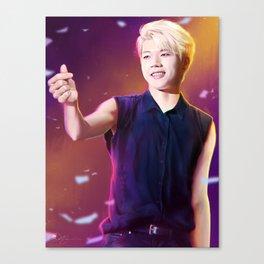 Woohyun Canvas Print