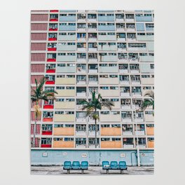 Rainbows at Choi Hung Poster