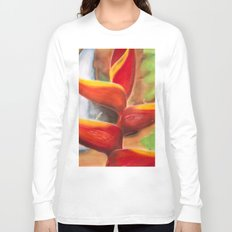 Heliconia Long Sleeve T-shirt