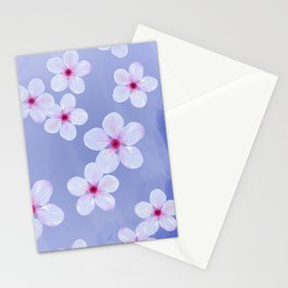 Cherry Blossoms - Painting Stationery Cards
