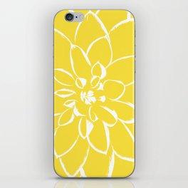 Dahlia Buttercup iPhone Skin