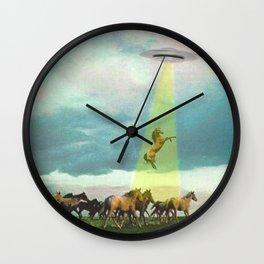 They too love horses Wall Clock