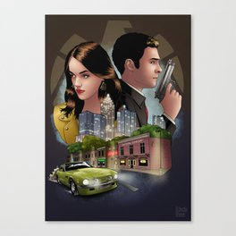 Fitzsimmons - Undercover Canvas Print