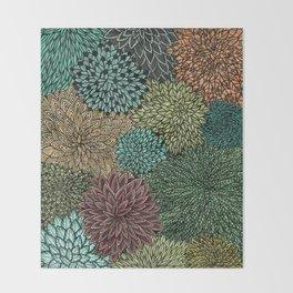 Ink  Pattern No.4 Throw Blanket