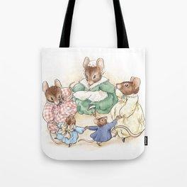 Many Mice Go 'Round Tote Bag