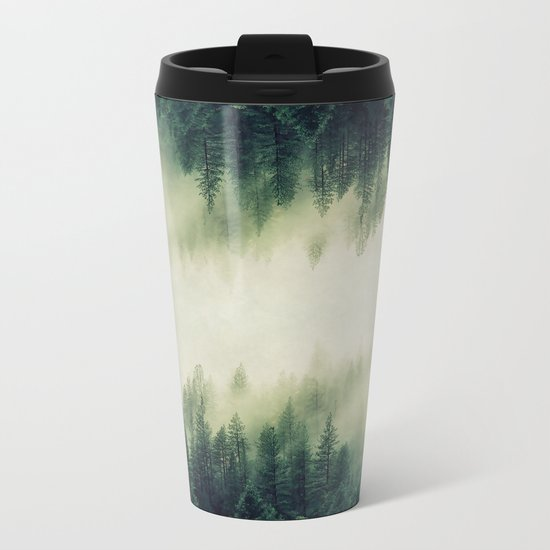 Ascending Into Light Metal Travel Mug