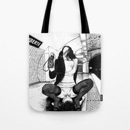 asc 584 - Une Américaine à Paris (My 4th of July in Paris) Tote Bag