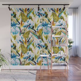 Floral Exotic Pattern II Wall Mural