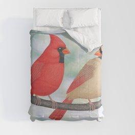 cardinal conversation Comforters