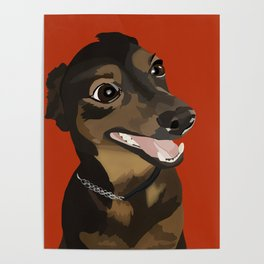 Mikey - Cute Pup Poster