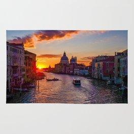 Sunset River City (Color) Rug