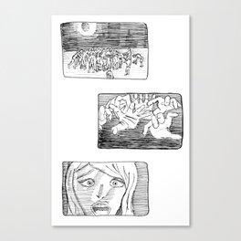 Last Scream Canvas Print