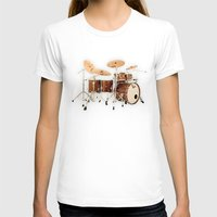 drums T-shirts featuring Hendrix  Drums by good music