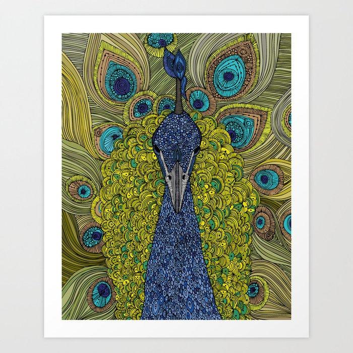Mr. Pavo Real Art Print