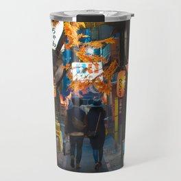 Omoide Yokocho, Shinjuku. Travel Mug