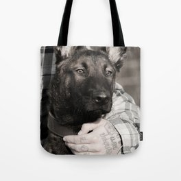 Love and protection for humans and animals Tote Bag